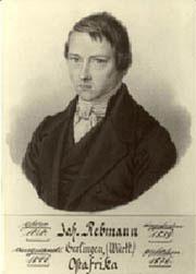 El misionero alemán, Johannes Rebmann