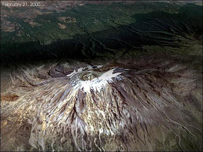 Las nieves del Kilimanjaro en el año 2000