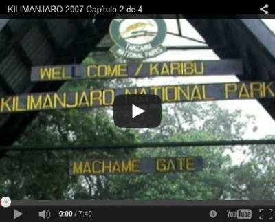 Vídeo de una ascensión por la ruta Machame